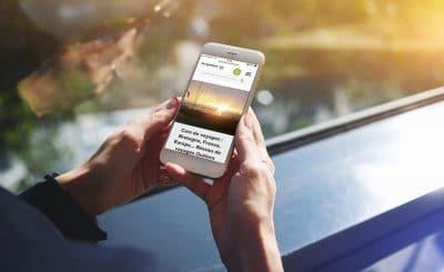 Le site internet Le Meur bus et cars est en responsive design, il s'adapte à tous les appareils, mobile, tablette, pc de bureau